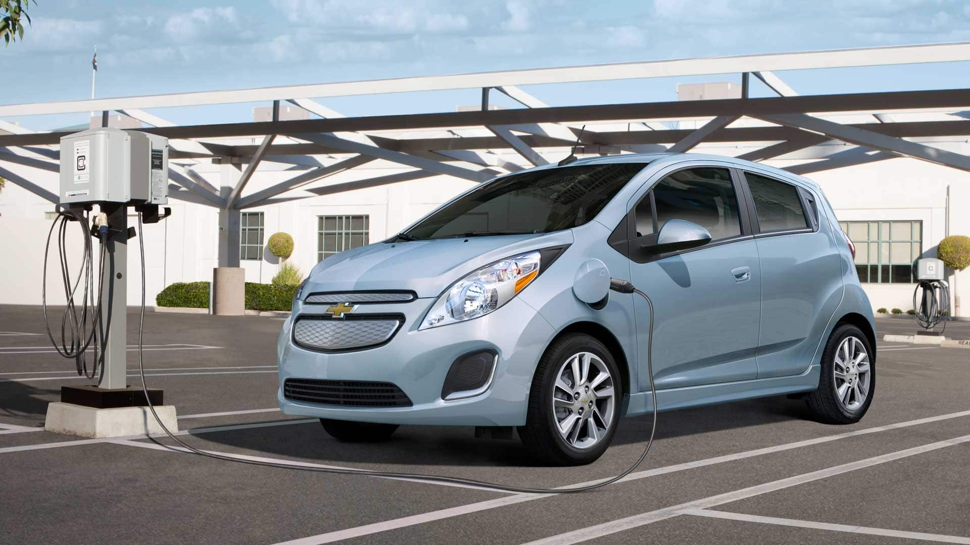 2014 Chevrolet Spark Electric Vehicle EV Launches This Summer