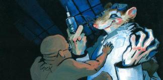 Animal testing illustration