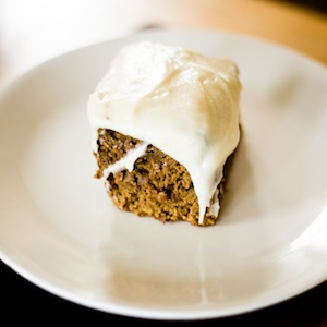Vegan Carrot Molasses Cake Recipe
