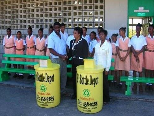 B's Bottle Depot in Barbados
