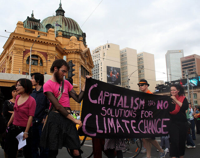 human cause for climate change