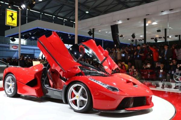 Ferrari hybrid car