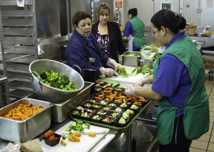 vegetarian cafeteria