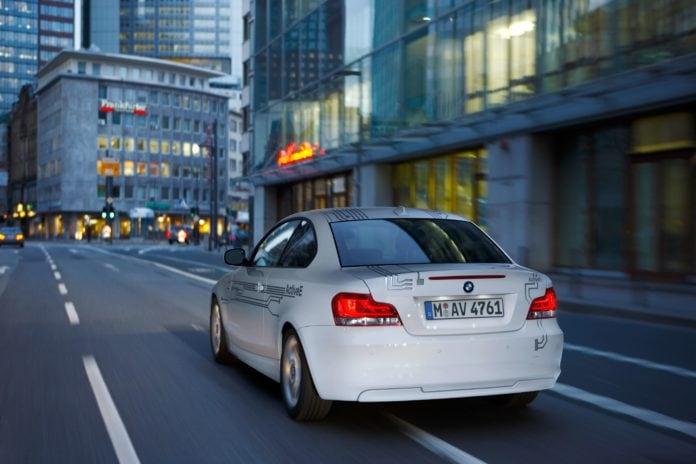 BMW Active E Booty