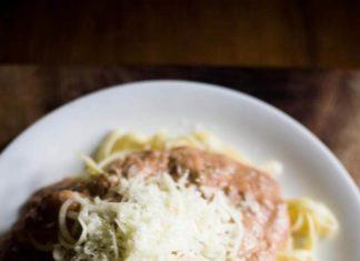 Linguini with Vegan Rose Sauce