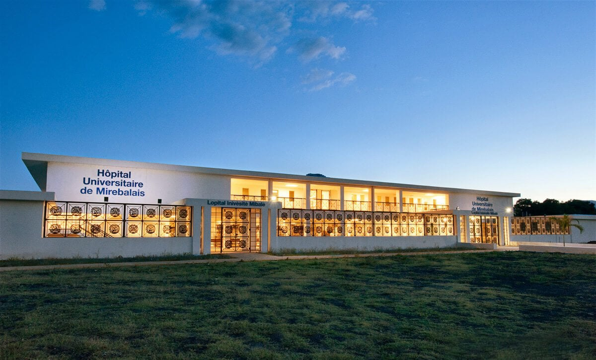 Solar powered hospital in Haiti