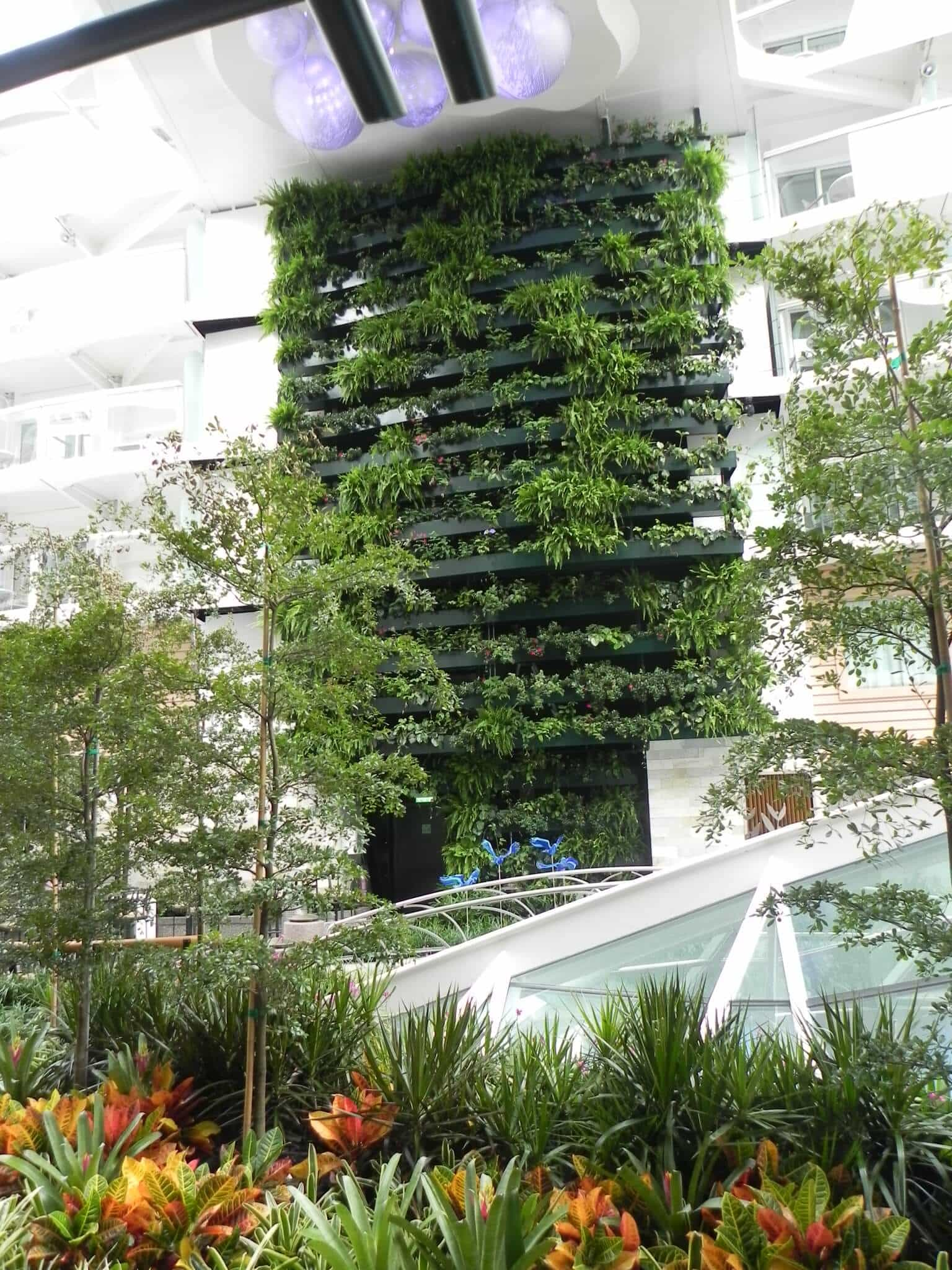 Allure of the Seas Living Wall