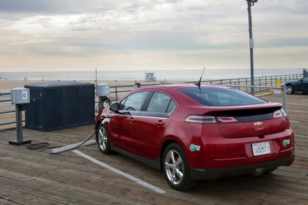 2014 Chevy Volt Charging