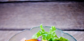 Simple Grilled Nectarine Salad