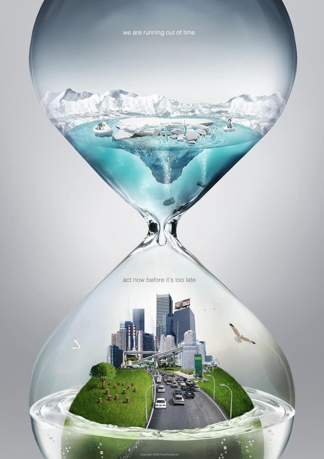 Hourglass climate change