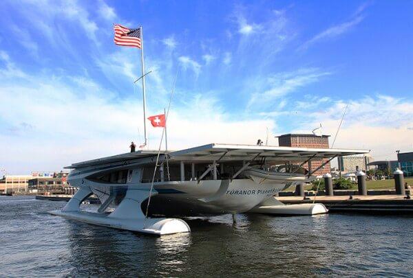 solar boat