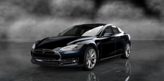 Tesla Motors electric car