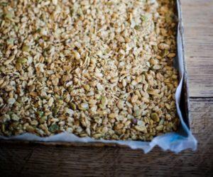 Maple Pumpkin Seed Granola