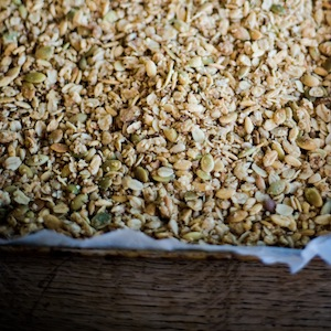 Maple Pumpkin Seed Granola sm