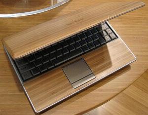 bamboo laptop