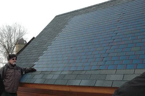 Discreet Solar Power For Your Roof Greener Ideal