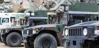 US Military Humvees