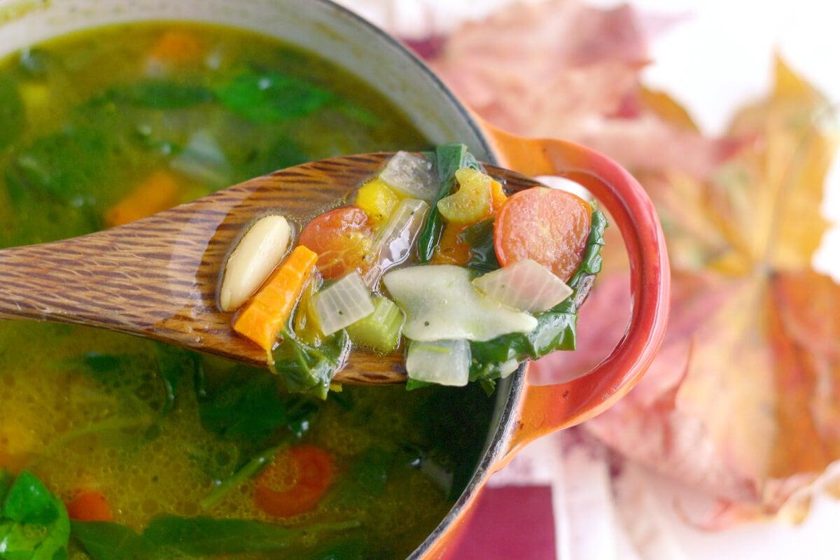November Minestrone Soup