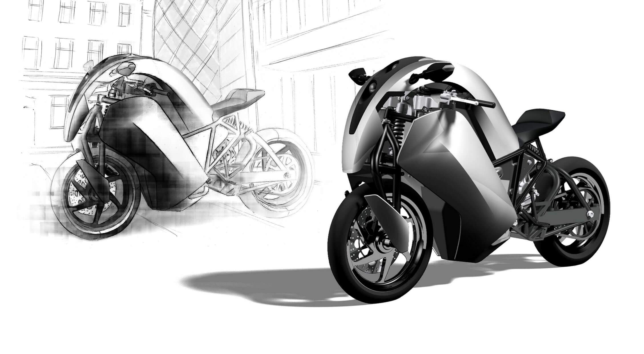 Saietta electric superbike