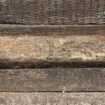 wood railroad ties