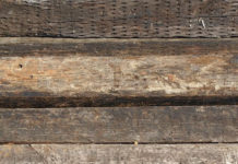 wood railroad ties