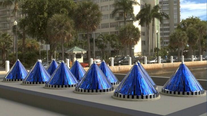 V3 Solar Photovoltaic Cones