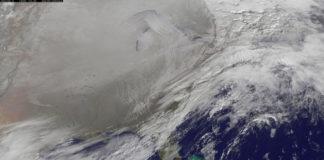 polar vortex from space