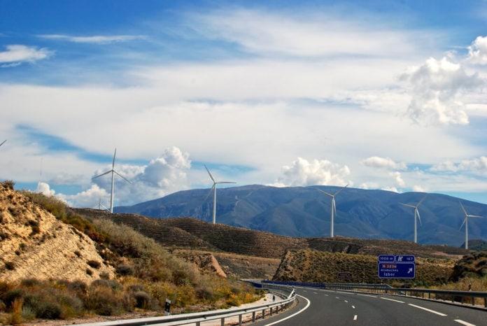 spain wind turbines