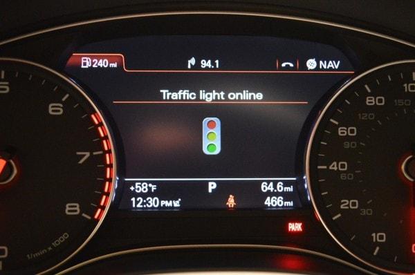 Audi traffic light assist