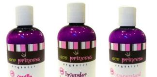 eco princess body lotion