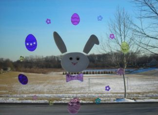 easter snow