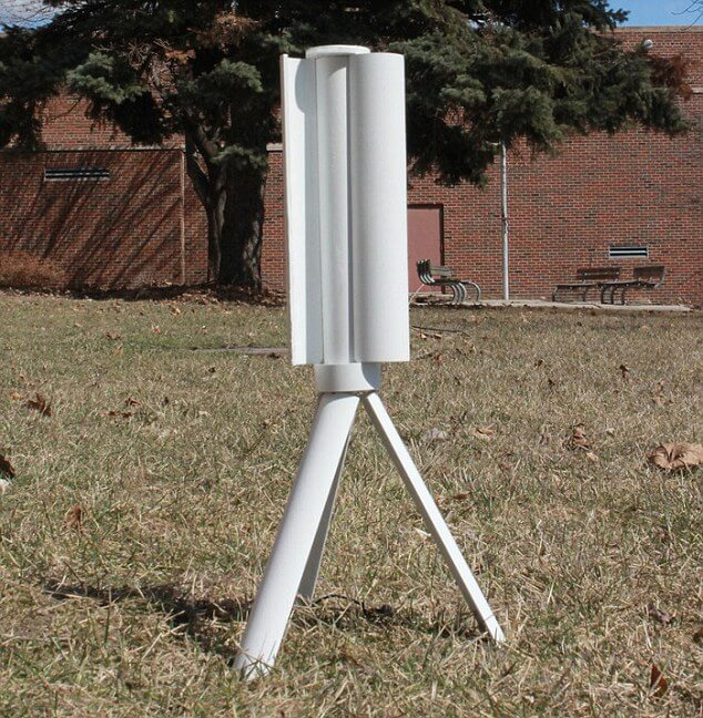 Personal-sized wind turbine for charging your gadgets