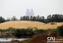 China artificial lake