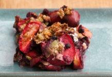 Coconut Berry Quinoa Crisp