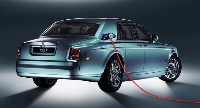 Rolls Royce hybrid car