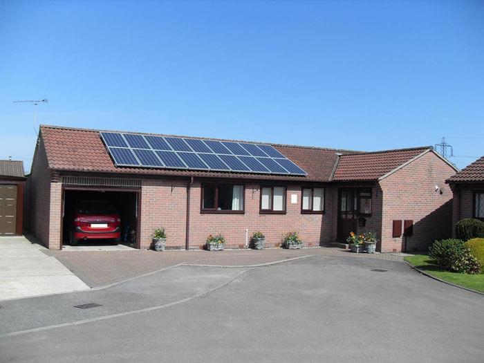 solar panels on your garage