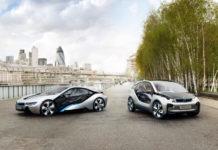 BMW i3 and i8