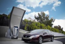 Hydrogen car fueling station
