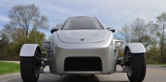 Elio Motors three-wheeler