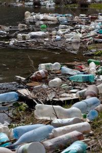 plastic water bottle garbage