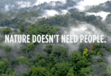 nature doesn't need people.