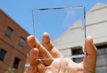 transparent solar cell