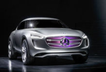 Mercedes-Benz Vision G-Code hybrid crossover concept