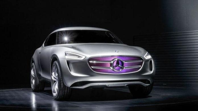 Mercedes-Benz Vision G-Code hybrid crossover concept