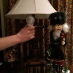 installing a new CREE LED light bulb