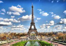 Eiffel tower going green
