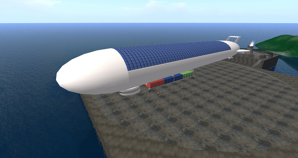 China Chooses Solar Power For Airship In Near Space