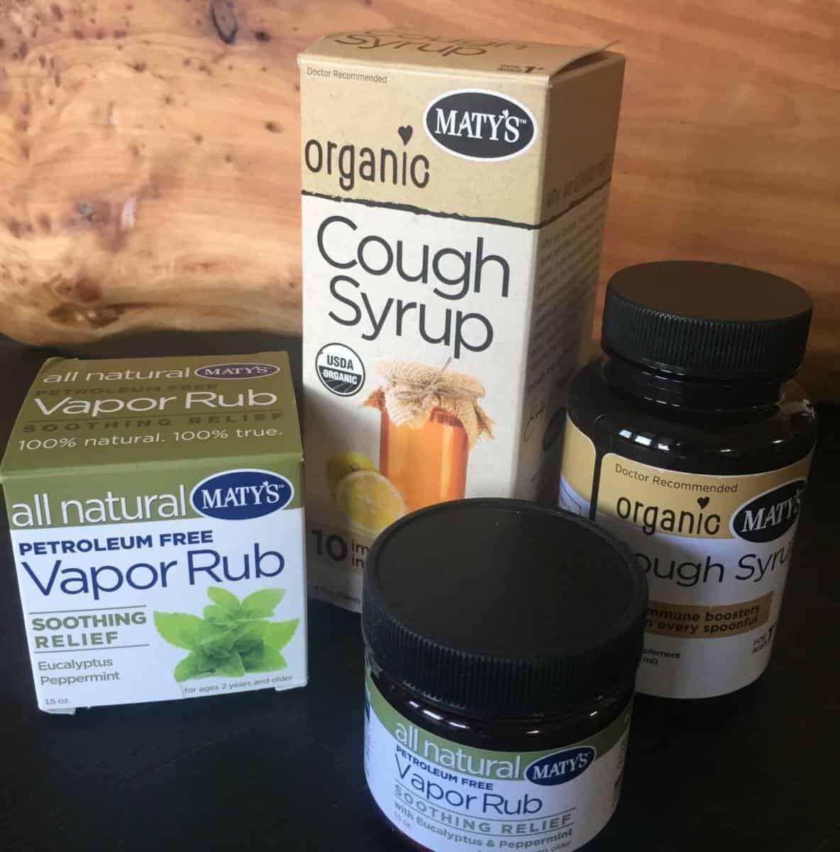 Mary's organic cold medicine
