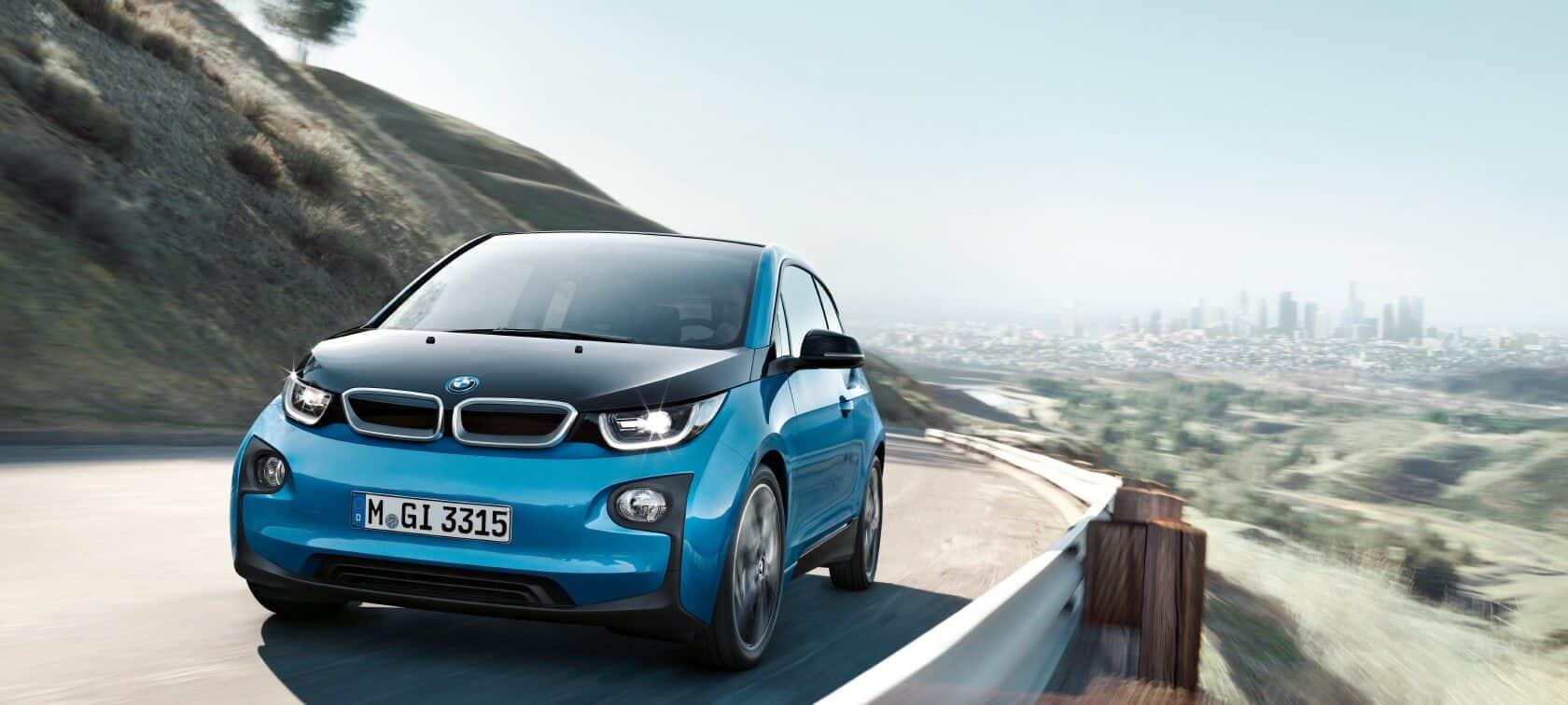 2017 BMW i3 on road
