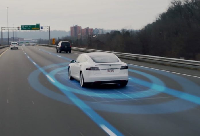 Tesla driverless car feature